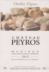Wine Chateau Peyros Madiran Vieilles VIgnes 2016