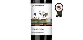 Wine Consentido Monastrell Barrica Red 2017