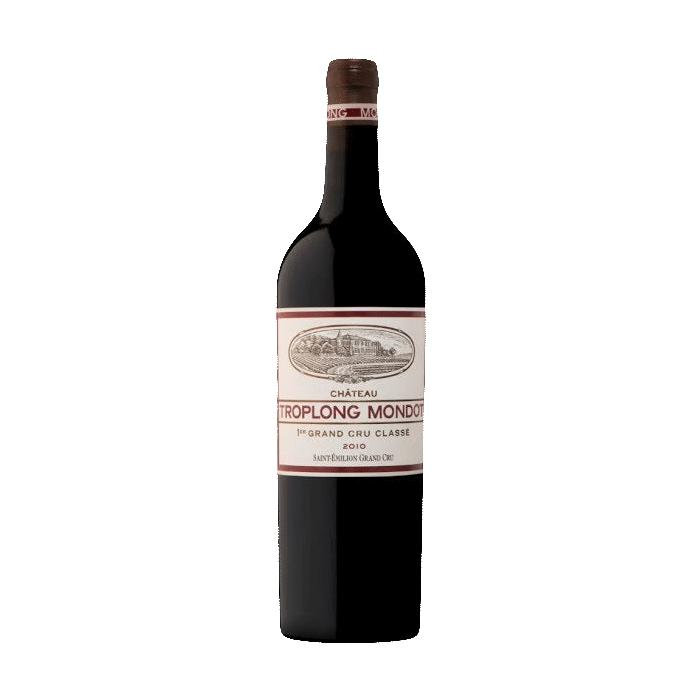 Wine Chateau Troplong Mondot Saint Emilion 2010