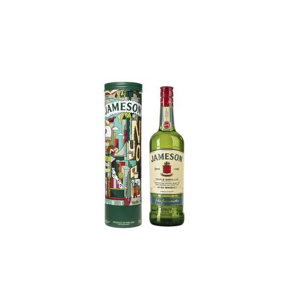 Spirits Jameson Irish Whiskey in New York Tin