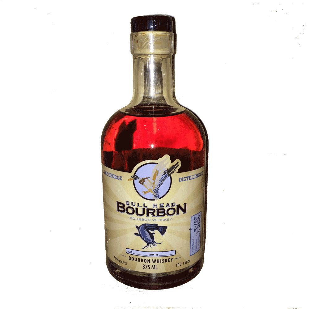 Spirits Lake George Distilling Bull Head Bourbon 375ml