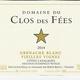 Wine Clos des Fees Vieilles Vignes Blanc   2018