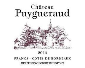 Wine Ch Puygueraud 2018