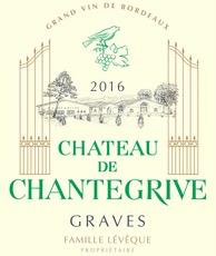 Wine Ch de Chantegrive Blanc 2018