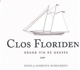 Wine Clos Floridene Rouge 2018