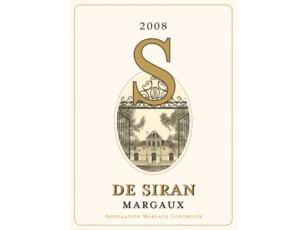 Wine S de Siran 2018