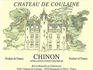 Wine Chateau de Coulaine Chinon Rouge 2019
