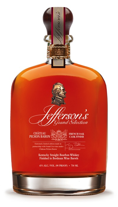 Spirits Jefferson's Bourbon Grand Selection Chateau Pichon Baron Cask Finish