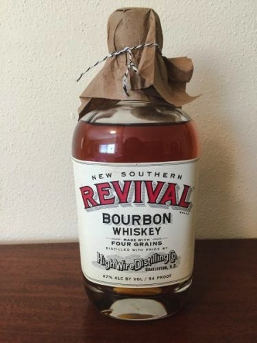 Spirits High Wire Distilling Company New Southern Revival Four Grain Bourbon