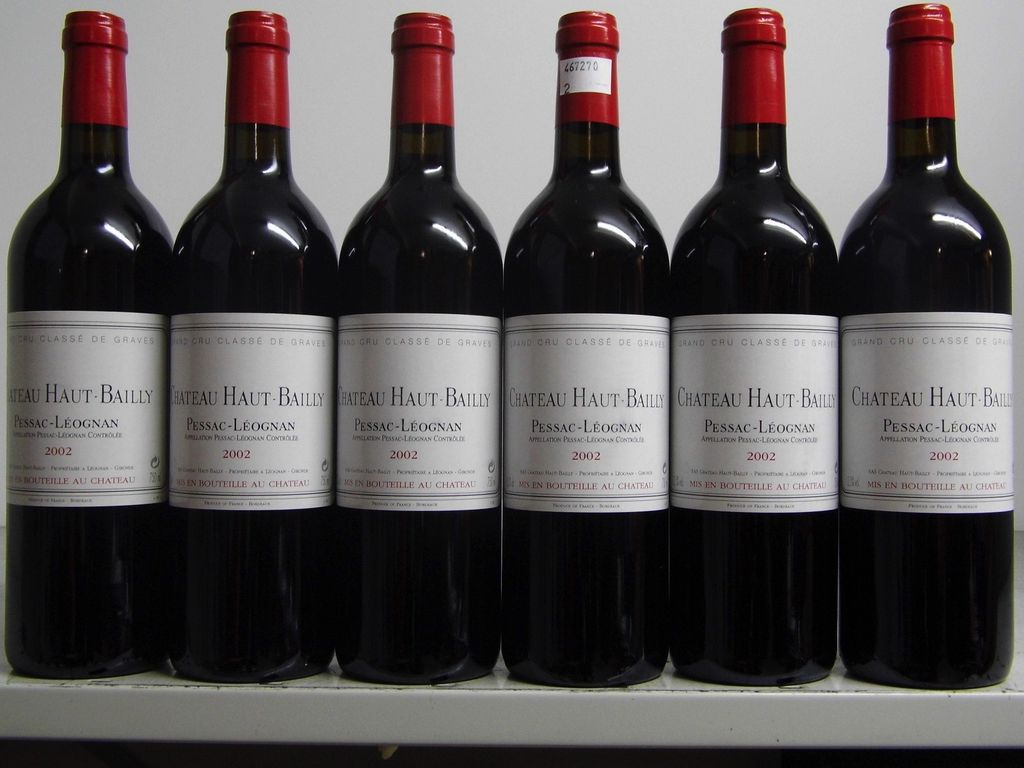 Wine Ch. Haut Bailly 2002