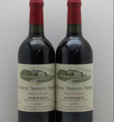 Wine Ch. Troplong Mondot 2000