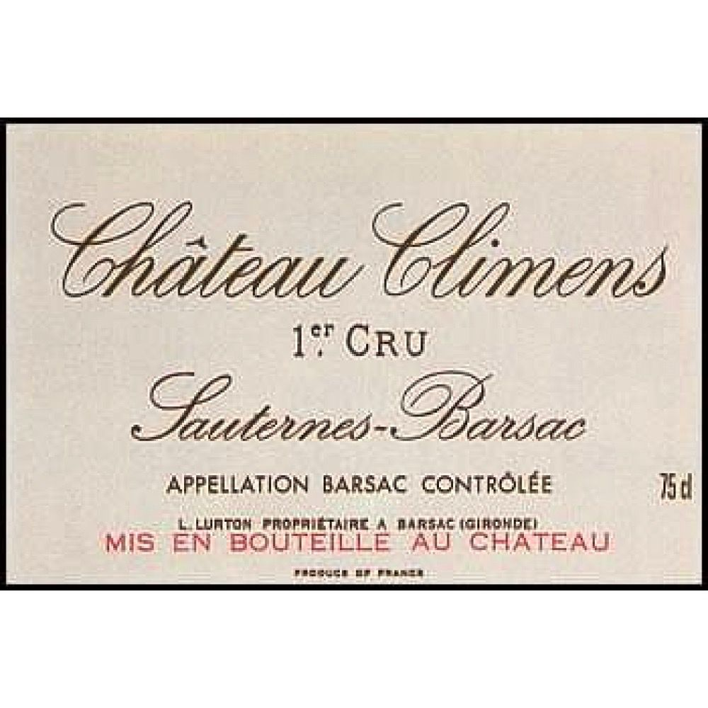 Wine Ch. Climens 2010