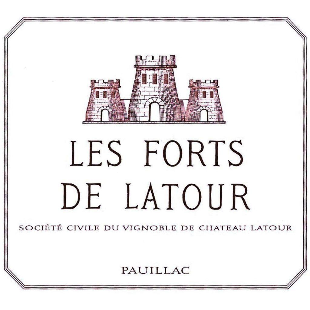 Wine Les Forts De Latour 2007