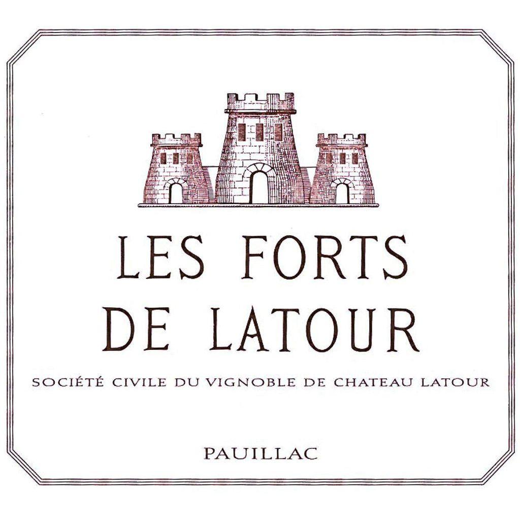 Wine Les Forts De Latour 2008