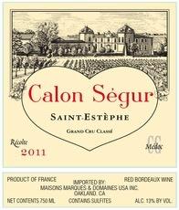 Wine Château Calon-Ségur, Saint-Estèphe 3ème Grand Cru Classé 2006 3L