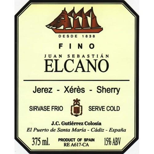 Wine Gutierrez Colosia 'Elcano' Fino Sherry