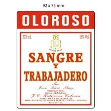 Wine Gutierrez Colosia 'Sangre y Trabajadero' Oloroso Sherry
