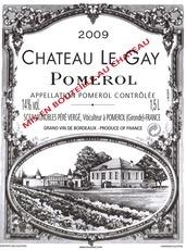 Wine Ch. Le Gay 2009