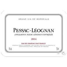 Wine Pessac Leognan De Ht Bailly 2015