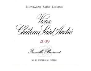 Wine Vieux Chateau Saint Andre Montagne-St-Emilion 2015