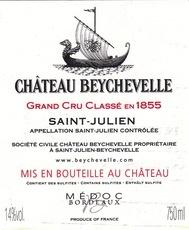 Wine Chateau Beychevelle 2012