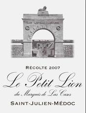 Wine Le Petit Lion Du Marquis De Las Cases 2009