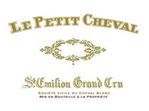 Wine Ch. Cheval Blanc, Le Petit Cheval Saint-Émilion 2012
