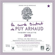 Wine La Cuvee Bistrot De Puy Arnaud 2015