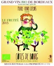 Wine Chateau Grand Launay Pierre Henri Cosyn Le Fruite 2015