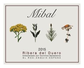 Wine Bodegas Hornillos Ballesteros Ribera del Duero MIbal TInto 2015