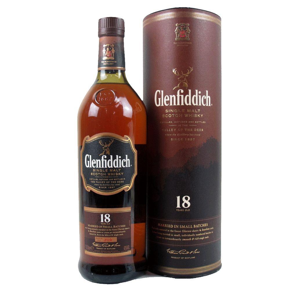 Spirits Glenfiddich 18 Year Old Single Malt Scotch Whisky Small Batch Reserve