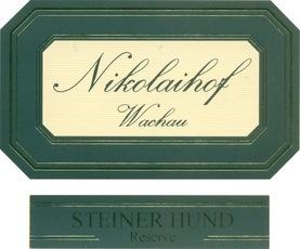 Wine Nikolaihof Steiner Hund 'Reserve' Riesling 2009