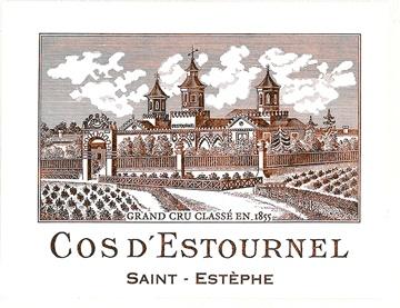 Wine Cos d'Estournel 2004