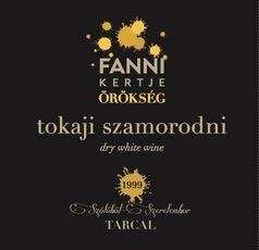 Wine Fanni Kertje Tokaji Szamorodni 2001 500ml
