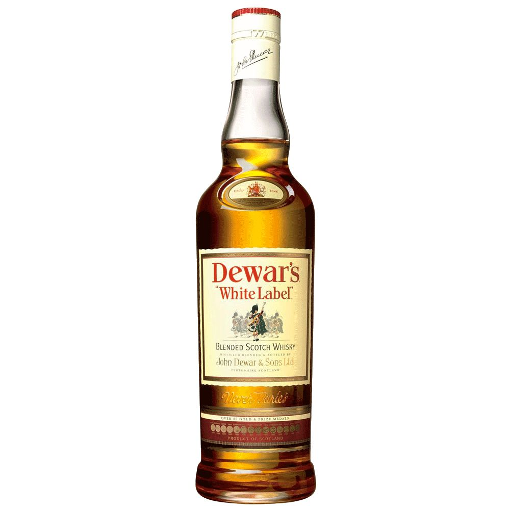Spirits Dewars Scotch White Label 750ML