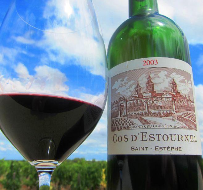 Wine Cos d'Estournel 2003