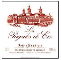 Wine Chateau Cos d'Estournel Les Pagodes de Cos Saint Estephe 2014