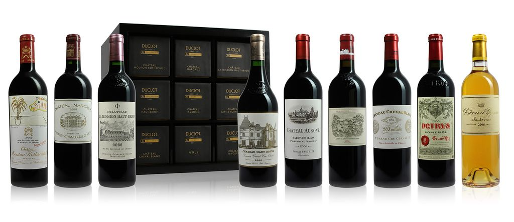 Wine Duclot Collection Case First Growth  9-bottle-case 2006