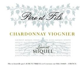 Wine Laurent Miquel Chardonnay Viognier 2017