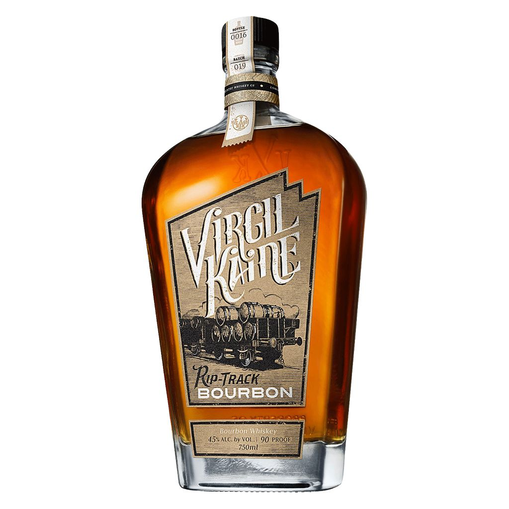 Spirits Virgil Kaine Rip-Track High Rye Bourbon Whiskey