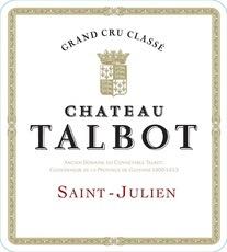 Wine Chateau Talbot 1996 1.5L