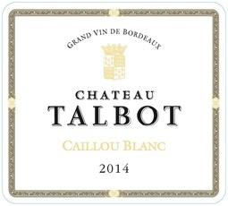 Wine Chateau Talbot, Caillou Bordeaux Blanc 2016