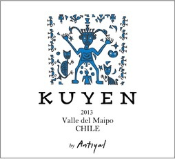Wine Antiyal Valle del Maipo Kuyen 2015