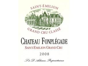 Wine Ch Fonplegade Saint Emilion 2012