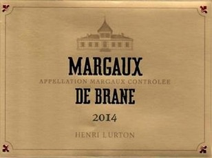 Wine Margaux de Brane Cantenac 2014