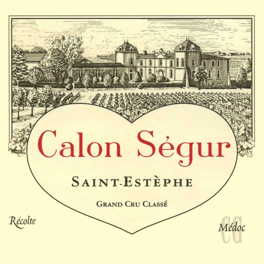 Wine Ch. Calon Segur 2006 3L