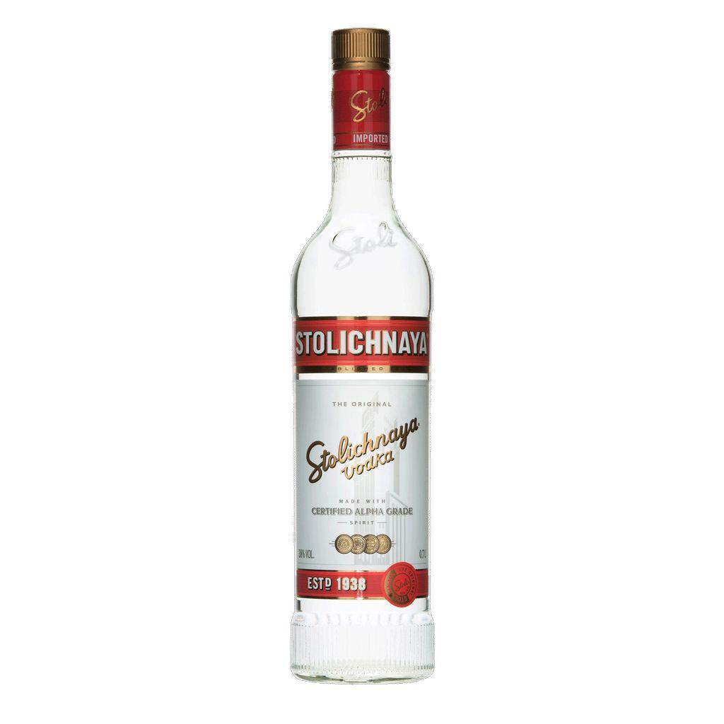 Spirits Stolichnaya Vodka 375ml