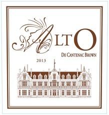 Wine Chateau Cantenac Brown, Alto de Cantenac Brown Bordeaux Blanc 2015