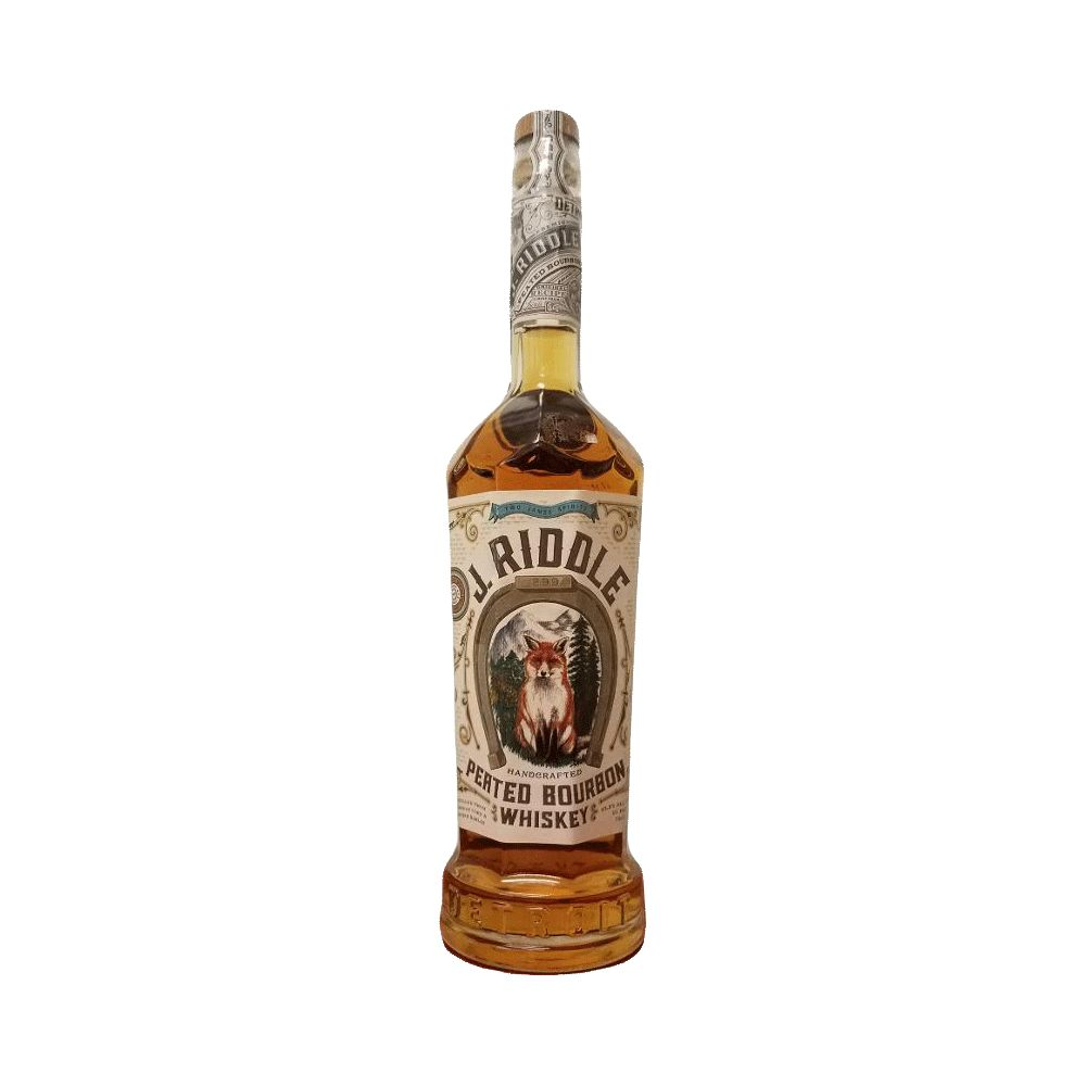 Spirits Two James Spirits J. Riddle Peated Bourbon Whiskey