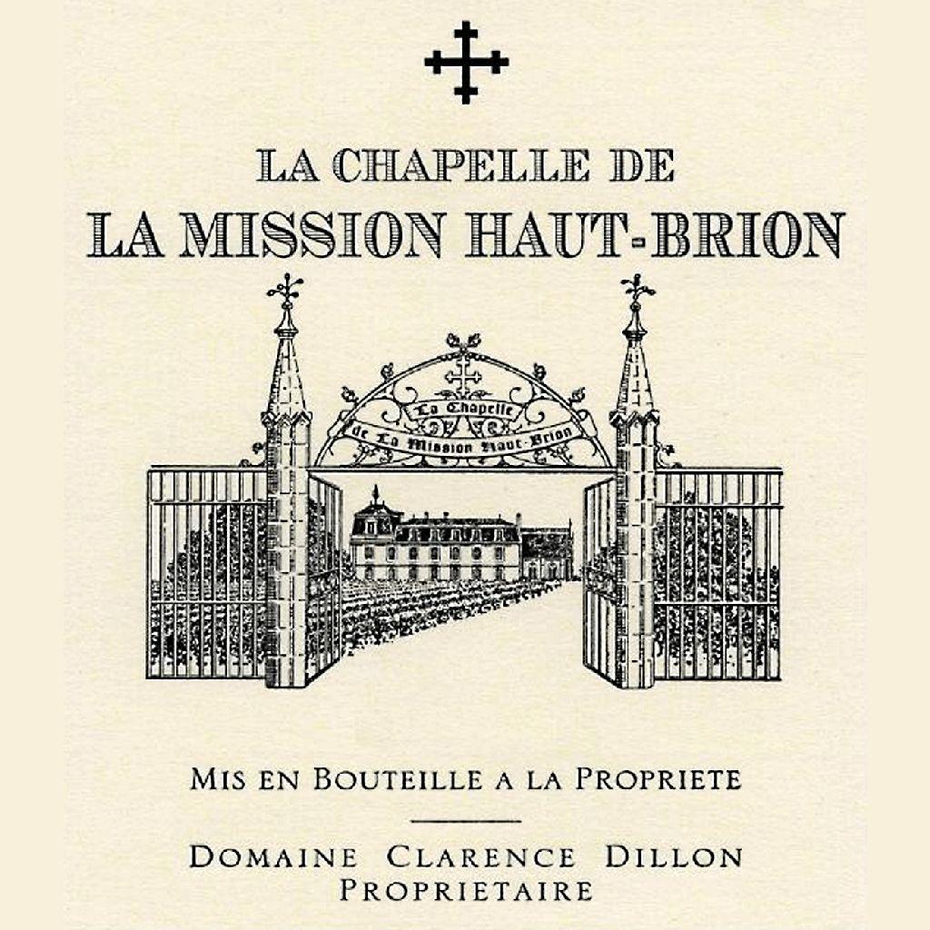 Wine La Chapelle Mission Haut Brion 2013